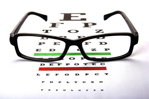 Chenango Vision Center Eyeglass chart