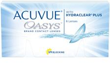 Acuvue Oasys Contact Lenese